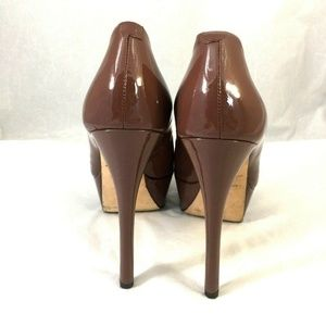 Brian Atwood Shoes - Brian Atwood Bambola Peep Toe Pump Stiletto Heel
